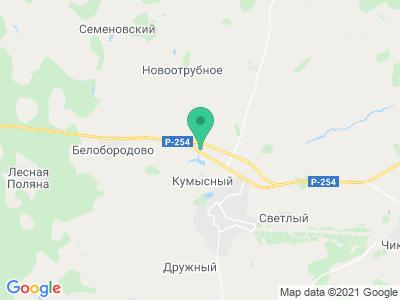 """Карта Туристическая база """"У Озера"""""""