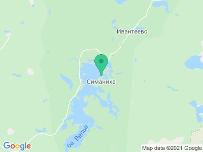 """Карта База отдыха """"Великое Озеро"""""""