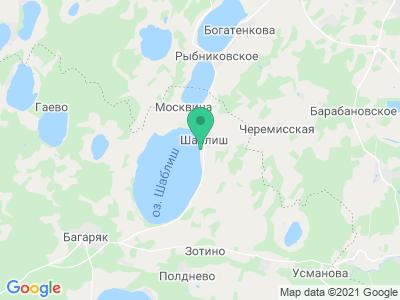 """Карта База отдыха """"Экопарк Шаблиш"""""""