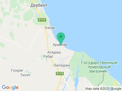 """Карта Туристическая база """"Рубас 1"""""""