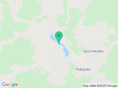 """Карта Рыболовный клуб """"Генезис"""""""