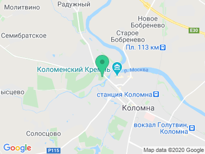 """Карта Кемпинг """"У кремля"""""""