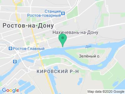 Схема проезда Яхты на колесах (Ростов-на-Дону)