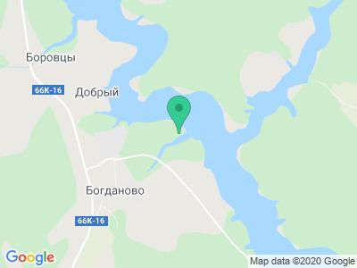 """Карта Кемпинг """"Клёвое место"""""""