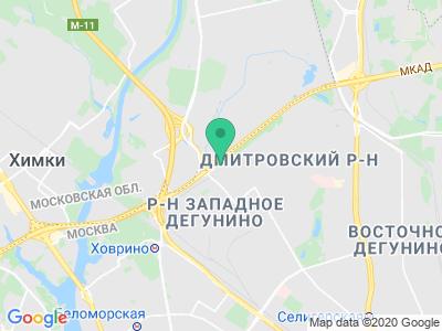 Схема проезда Автолорд (Москва)