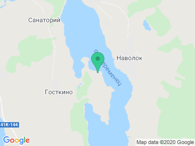 """Карта Кемпинг """"Северный Патмос"""""""