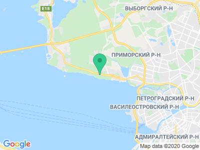 Карта Кемпинг Ольгино