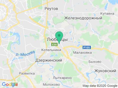 Схема проезда Ф-КРИТ