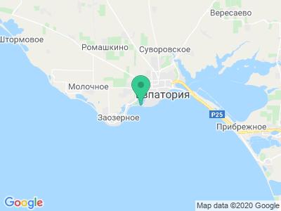 Карта Кемпинг Лазурный берег