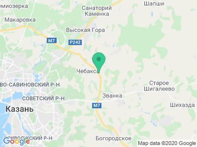 Карта Отель Ирбис Транзит