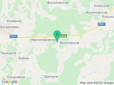 """Карта Фермерское хозяйство """"Долина коз"""""""