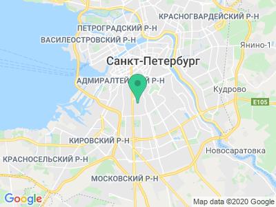 Схема проезда Buerstner Россия (Санкт-Петербург)