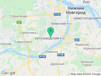 """Карта Гостиница """"Волна"""""""